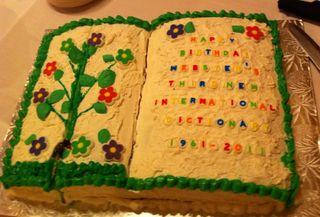 Webster Cake